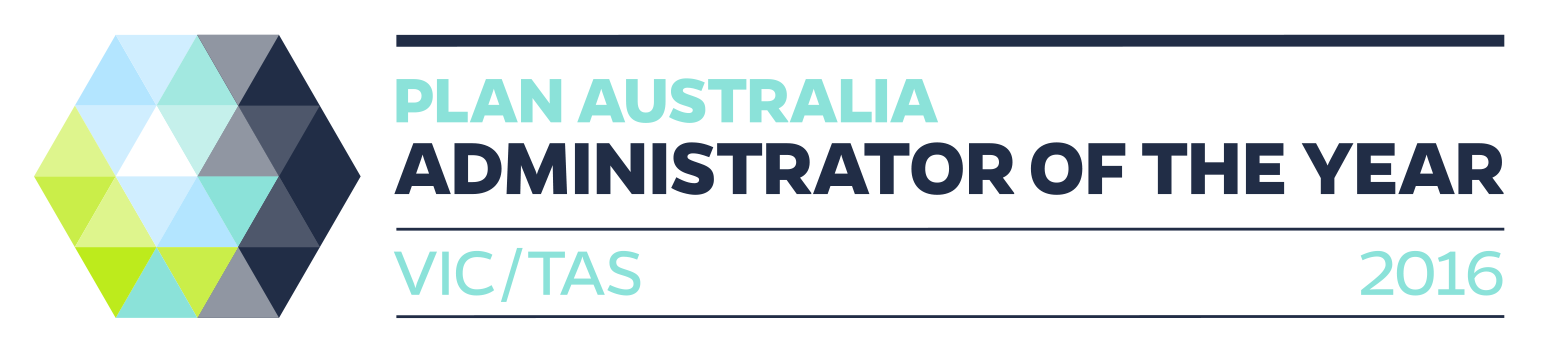 2016 Administrator of the Year PLAN Australia