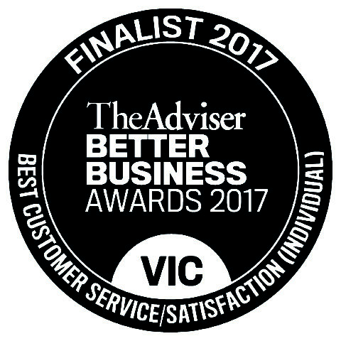 Better Business Awards Finalist 2017