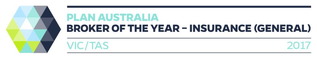 PLAN Australia VIC/TAS Broker of the Year - Insurance (General)