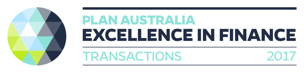 PLAN Australia Excellence in Finance - Transactions